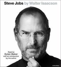 Steve Jobs by Walter Isaacson (2015, CD, Abridged)