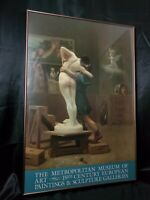 35x24 PROFESSIONALLY FRAMED POSTER THE METROPOLITAN MUSEUM OF ART 19th century