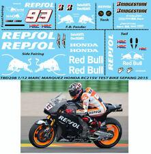 Decals 1//12 144 Micro-logos pour détailler les motos de GP FFSMC Productions