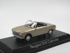 Norev 472443 1967 Peugeot 204 Cabriolet beige metallic Modellauto 1:43 Neuheit