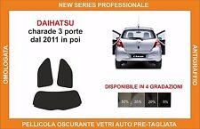 pellicola oscurante vetri dahiatsu CHARADE 3 P DAL 2011 in poi kit posteriore