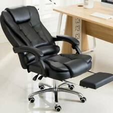 Luxury Massage Computer Chair Office Gaming Swivel Recliner Leather Modern