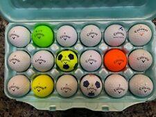 18 Callaway Golf BallsAssorted Colors AAAA condition