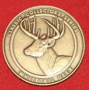 NRA Whitetail Deer Medallion