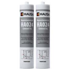 2 x 310 ml Express Zement Reparaturmo?rtel Cement Fix Fugenmörtel Rißacryl