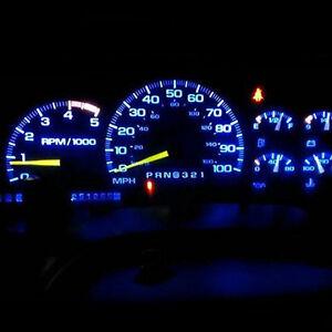 8pcs Blue LED Dash Cluster light Kit for Subaru Impreza WRX MY99 MY00