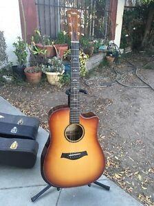 Taylor Guitar, Custom DN, Walnut Back & Sides, W/ Cocobolo Armrest & Wedge