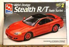 AMT/ERTL 1994 Dodge Stealth R/T 300 hp Twin-Turbo 3.0 V6 Rare HTF Box damaged