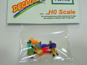 Surtido figuras decoracion escala HO Declow