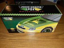 1998 precision die-cast john deere stock car chad little 1:18 scale Ertl