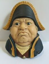 Bossons Chalkware Head 1969 Mr. Bumble Dickens detailed