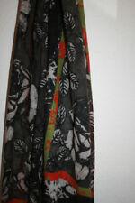 Bufandas y pañuelos de mujer marrones, 100% lana