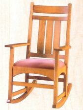 MISSION ROCKING CHAIR WOOD WORKING PLANS - NEW
