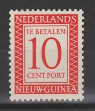 P3 Indonesia Nederlands Nieuw Guinea New Guinea port 3 MLH ong due stamp 1957