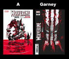 Wolverine Black White Blood 1 Set Cover A and Garney Variant 11/4/20