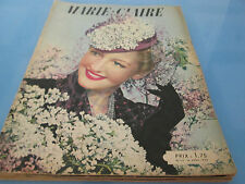 marie claire 111....1939