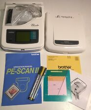 Brother Pacesetter PE-Scan II Personal Embroidery Design Scanner + System Card