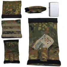 Fa. Scheibe Military Bag IDZ  + Zippo Chrom brushed + Zippo Handwärmer Realtree