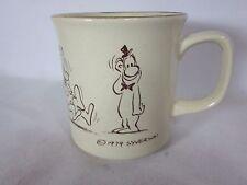 1979 Henry 'Hank' Syverson Cartoon Collectible Mug Disney Cartoonist