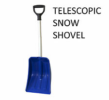 Telescopic Snow Shovel Mucking Out Shovel Extending Snow Scoop Car Shovel