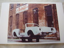 1964 STUDEBAKER AVANTI ASSEMBLY  BODY AVANTI II ?  11 X 17  PHOTO /  PICTURE