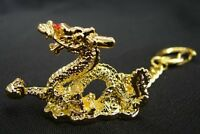 Feng Shui Chinese Dragon Amulet Keychain