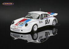 PORSCHE 911 RSR Brumos 1 ° Lime Rock IMSA CHAMPION 1974 Peter Gregg, Spark 1:43