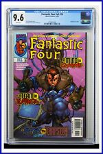 Fantastic Four #v3 #10 CGC Graded 9.6 Marvel October 1998 White Pages Comic Book