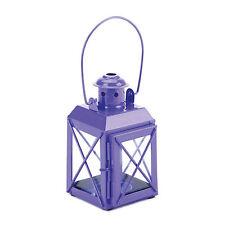 Purple Railway Lantern CandleHolder Party Supply Home Decor Gift