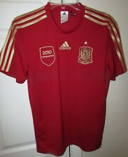 Adidas 2010 Champs RFCF Spain National Team Jersey Size Small Soccer Shirt