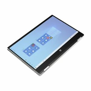 """New HP Pavilion x360 2-in-1 14"""" HD Touch i3-1115G4 8GB 256GB SSD Webcam Silver"""
