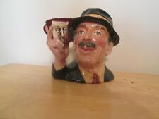 """D6796 The Collector Character Jug Large 7.25"""" Collectors Condition"""