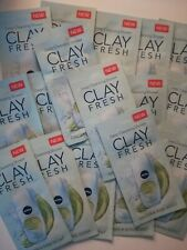 12qty NIVEA CLAY FRESH cleansing shower cream ginger&basil scent travel size