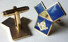 Euclids 47th Problem Masonic Freemason Masonry CUFFLINKS Cuff Link SET