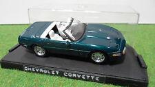 CHEVROLET CORVETTE ZR1 Cabriolet 1/43 DETAILS CAR voiture miniature collection