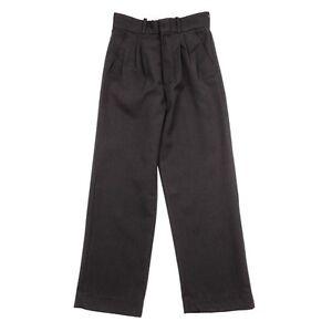 Grey Boys School Trouser Pants Uniform Size 8 10 12 14 16 18  Mens Pant Trousers