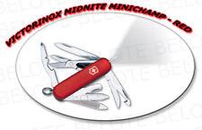 Victorinox Swiss Army Knife Midnite Minichamp RED 53976