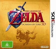 THE LEGEND OF ZELDA: OCARINA OF TIME 3D Nintendo 3DS/3DS XL BRAND NEW AUS PAL