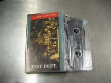 Test Dept. A Good Night Out (CASSETTE) '87