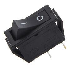2Pcs ON-OFF 2 Position SPST 2 Pin Snap in Rocker Switch 16A/250V 20A/125V AC AD