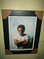 Bruce Springsteen Excelente Firmado fotografía {volver a imprimir} Enmarcado A4