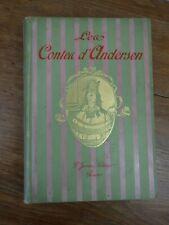 Les CONTES D'ANDERSEN Editions Felix Juven vers 1933 ill. Hans Tegner