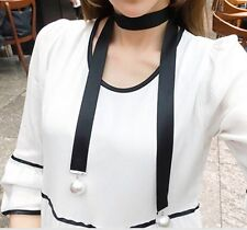 Fashion Retro Women Leather Choker Gothic Collar Statement Necklace Gift P68