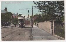 Osmaston Road, Derby Tram Postcard, B652
