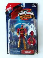 "Power Rangers Operation Overdrive Mystic Force Red Ranger Bandai 5"" NIB 2006"