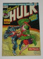 Incredible Hulk #174 Marvel Value Stamp Green Goblin Intact 1974 Marvel VF