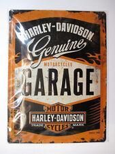 Nostalgic-Art Blechschild 30x40 Cm Harley-davidson Garage 23188