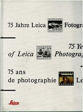 75 Years of Leica Photography SIGNED1991Hardcover