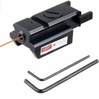 Tactique Visée Rouge Laser 20mm Rail Picatinny Weaver Mount Pour Chasse Cible FR