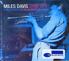 MILES DAVIS - TAKE OFF / COMPLETE BLUE NOTE ALBUMS - BLUE NOTE- (2) CDS - SEALED